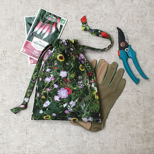smallbags imprimé photo prairie / flower meadow photo print bags