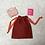 Thumbnail: smallbags rouille coton épais  / rust strong cotton bag