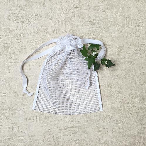 smallbags filet en coton  / cotton net fabric bags