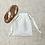 Thumbnail: smallbags en drap de coton blanc cassé - 5 tailles / ivory cotton bags - 5 sizes