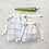 Thumbnail: smallbags torchon ivoire  - 2 tailles / cotton fabric bags - 2 sizes