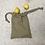 Thumbnail: kit 2 smallbags nappe kaki beige - 2 tailles / tablecloth 2 bags kit - 2 sizes