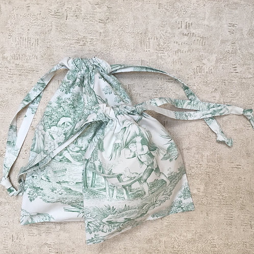 kit 4 smallbags coton recyclé / recycled cotton - 4 bags