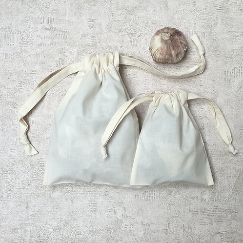smallbags toile à patron - 3 tailles / pattern fabric bags - 3 sizes