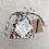 Thumbnail: smallbag unique fleuri / unique flowered cotton bag