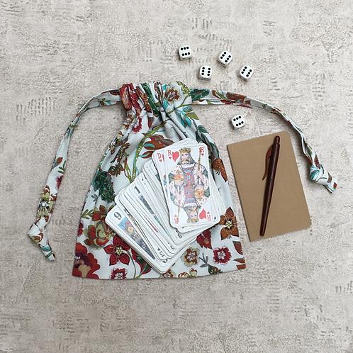 smallbag unique fleuri / unique flowered cotton bag