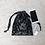 Thumbnail: smallbag en velours frappé noir - 2 tailles / velvet bag - 2 sizes