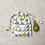 Thumbnail: smallbag unique coton épais  / unique cotton bag