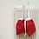 Thumbnail: smallbags de noël feutrine et coton / xmas gifts smallbags