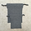Thumbnail: kit 2 smallbags gris clair / grey cotton 2 bags kit