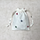 Thumbnail: kit 2 smallbags en lin brodé - 2 tailles / 2 embroidered linen bags - 2 sizes