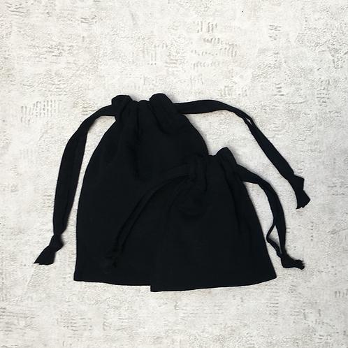 smallbags double gaze de coton - 2 tailles / double cotton gauze - 2 sizes
