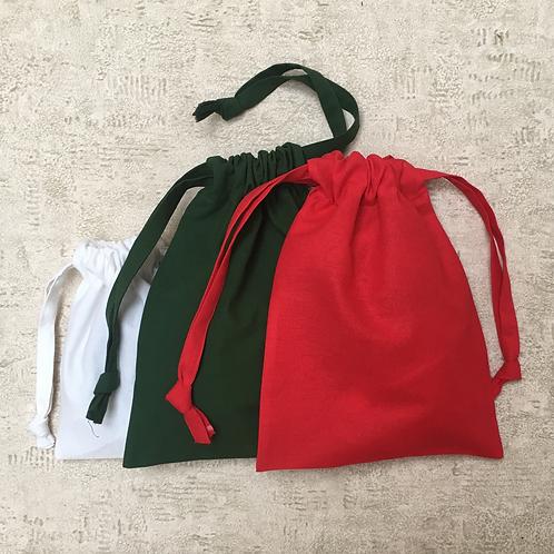 smallbags de noël - 2 tailles - 3 couleurs  / xmas bags - 2 sizes - 3 colors