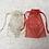 Thumbnail: smallbags voile imprimé doré - 2 couleurs / golden printed veil bags - 2 colors