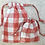 Thumbnail: smallbags étanches à carreaux - 2 tailles / watertight small bags- 2 sizes