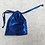 Thumbnail: smallbags voile bleu - 3 tailles   / blue metal bags - 3 sizes