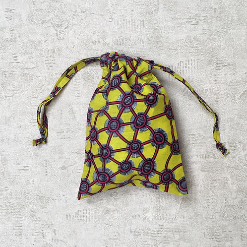 smallbag unique en wax africain /  unique african coton wax bag