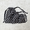 Thumbnail: smallbags à pois blancs - 3 tailles / white polka dot bags - 3 sizes