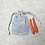 Thumbnail: smallbags imprimés petit feuillage  - 2 tailles / printed bags - 2 sizes
