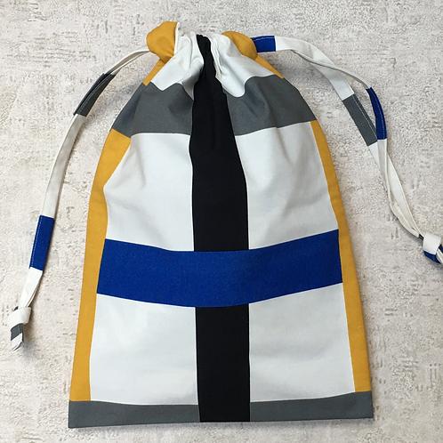 sac unique à linge ou de plage / unique laundry or beach bag