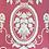 Thumbnail: smallbag dentelle blanche doublé voile fuchsia / white lace and cotton vei