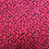 Thumbnail: smallbag dentelle noire à strass doublé rouge / black stressed lace lined red