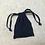 Thumbnail: smallbags en denim brut - 2 tailles / raw denim bags - 2 sizes