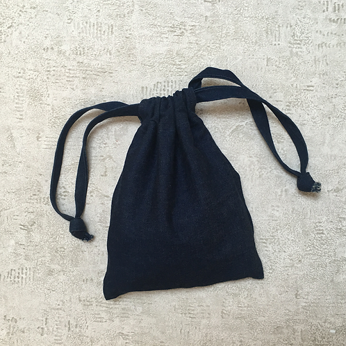 smallbags en denim brut - 2 tailles / raw denim bags - 2 sizes