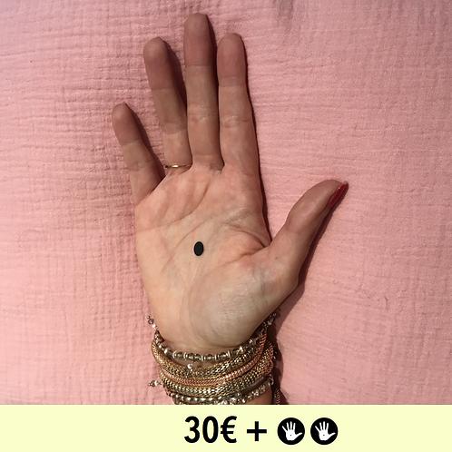 DON 30€ + 2 BADGES - diamètre 25mm / PIN BADGE x2 - diameter 0,98 in