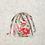 Thumbnail: smallbags uniques drap fleuri - 3 tailles / unique flowered smallbags - 3 sizes