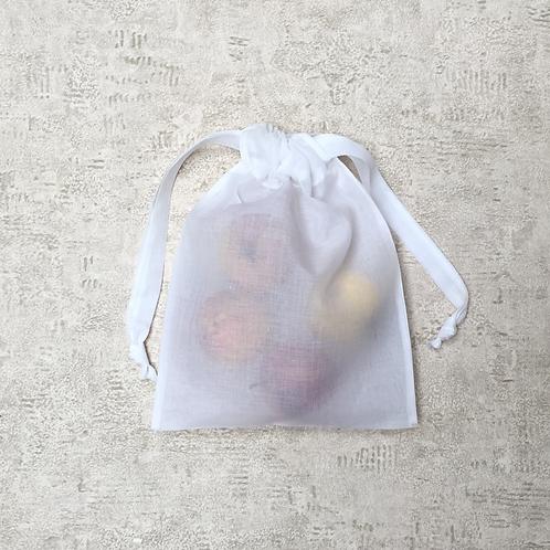 smallbags organdi - 2 tailles / organdi cotton bags - 2 sizes