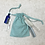 Thumbnail: smallbags imprimés éventail - 2 tailles / printed cotton fabric bags - 2 sizes