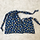 Thumbnail: smallbags  fleuris bleu / flowered blue cotton bags