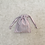 Thumbnail: smallbags rayures - 2 tailles / cotton fabric bags - 2 sizes
