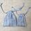 Thumbnail: kit 2 smallbags en lin bleu ciel / light blue linen 2 bags kit