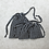 Thumbnail: kit 3 smallbags voile de coton doublé de soie / cotton veil silk lined kit
