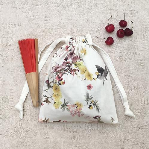 small bag unique imprimé fleurs / flowers printed fabric