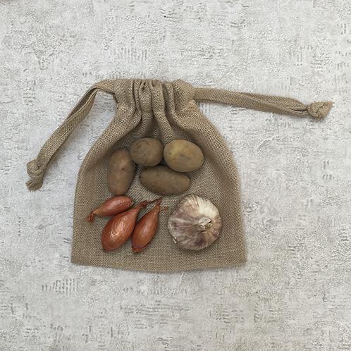 smallbags toile de jute / potatoe bag fabric bags