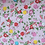 Thumbnail: kit 3 smallbags / 3 tailles - roses fleuris / 3 sizes - flower printed