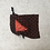 Thumbnail: smallbag unique en lainage brun / unique bag woolen fabric