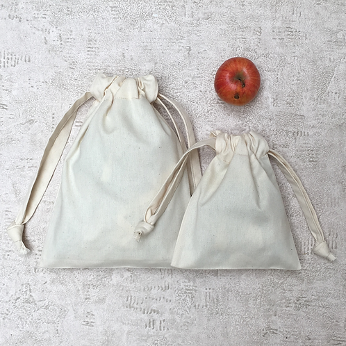 smallbags en coton épais - 2 tailles / cotton denim style - 2 sizes