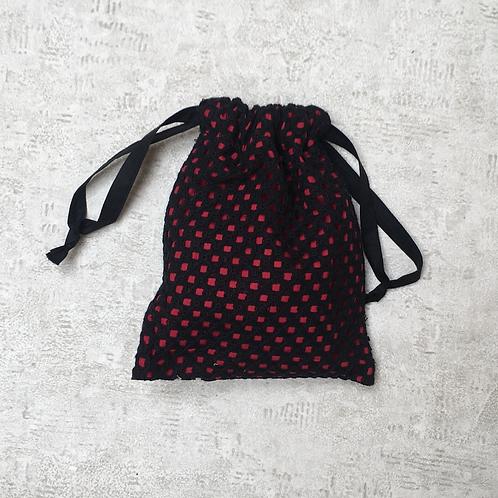 smallbags dentelle doublée - 2 couleurs / lace and cotton veil bag - 2 colors