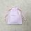Thumbnail: smallbag drap de coton brodé recyclé / recycled cotton sheet