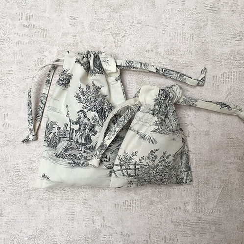 smallbags Toile de Jouy - 4 tailles - 4 couleurs / 4 colors - 4 sizes
