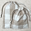 Thumbnail: smallbags en coton type nappe - 4 tailles / cotton tablecloth bags - 4 size
