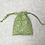 Thumbnail: smallbags coton imprimé feuillage - 2 tailles / printed cotton bags - 2 sizes