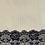 Thumbnail: sac sexy - taffetas & dentelle - green taffeta & black lace / toys bag - 2 sizes