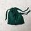 Thumbnail: kit unique 2 smallbags en soie verte / unique green silk kit 2 smallbags