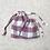 Thumbnail: kit pique-nique : nappe + 3 smallbags / picnic-kit tablecloth + 3 bags
