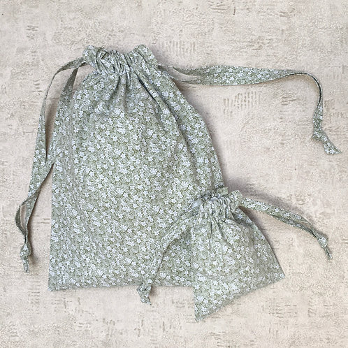 kit 2 smallbags coton recyclé / recycled cotton - 2 bags